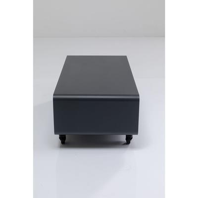 Cómoda baja Lounge M Mobil gris 90x30cm