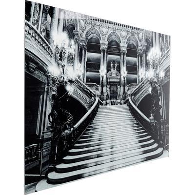 Cuadro cristal Metallic Reception Hall 120x180cm