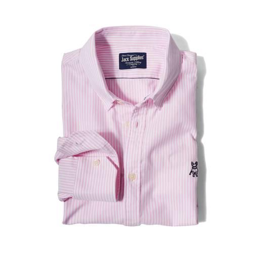 Camisa Manga Larga Wainscott Jack Supplies Para Hombre  - Rosado