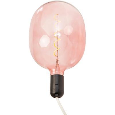 Bombilla Spiral LED rosa
