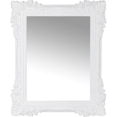 Espejo Fiore blanco 89x109