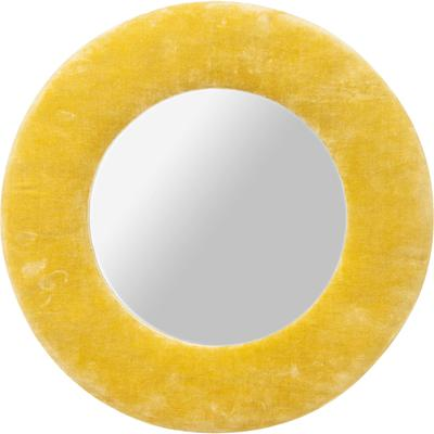 Espejo Cherry amarillo Ø50cm