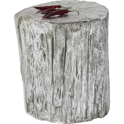 Taburete Tronco plata Ø40cm