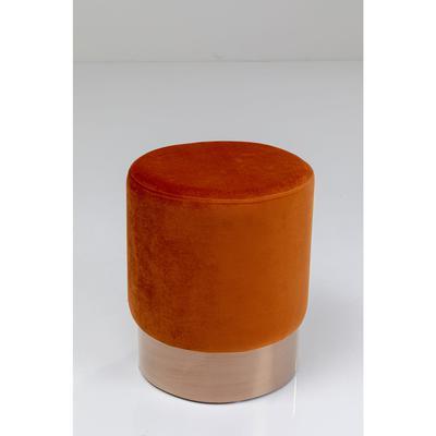 Taburete Cherry naranja oscuro cobre  Ø35cm