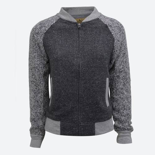 Chaqueta Pedley Baseball Knitted Taupe