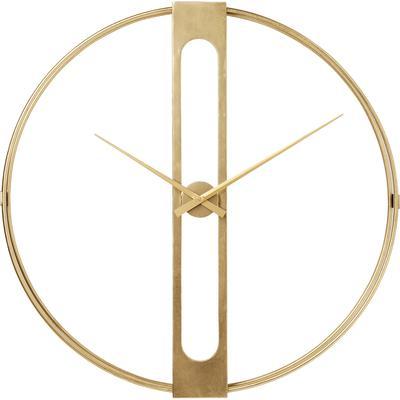 Reloj pared Clip oro Ø107cm