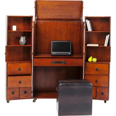 Armario baúl Office Croco marrón