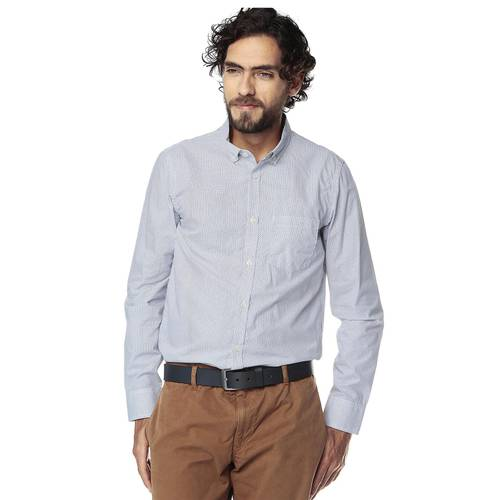 Camisa Manga Larga Jones para Hombre Color Siete