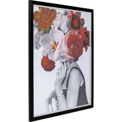 Cuadro Flower Lady 117x152cm
