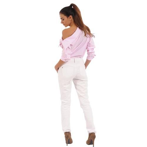 Blusa Manga Larga Marsella Color Siete para Mujer- Rosado