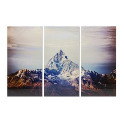 Cuadro cristal Triptychon Himalaya 160x240cm (3/