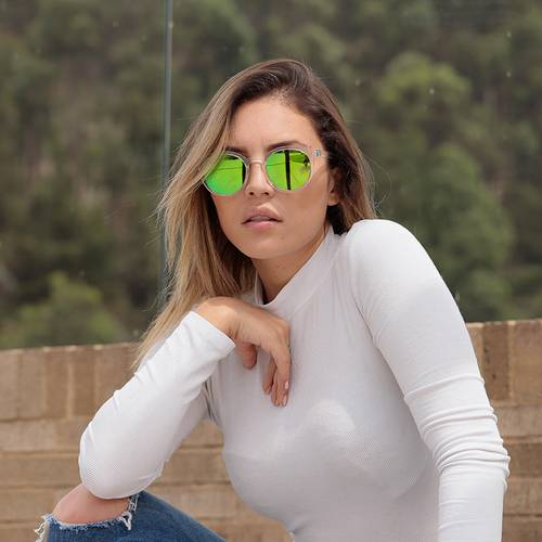 Gafas Sol Verde Transparente ron