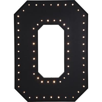 Objeto luminoso O negro LED 169cm