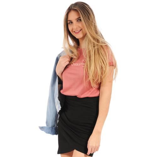 Camiseta Bella Rosé Pistol para Mujer - Rosado