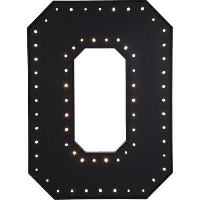 Objeto luminoso O negro LED 169cm