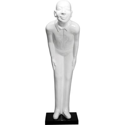 Figura decorativa Welcome Guests blanco XL