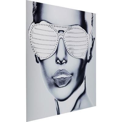 Cuadro Cool Girl 120x120cm