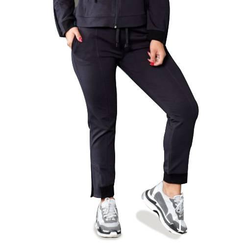 Pantalón Deportivo Botones Negro