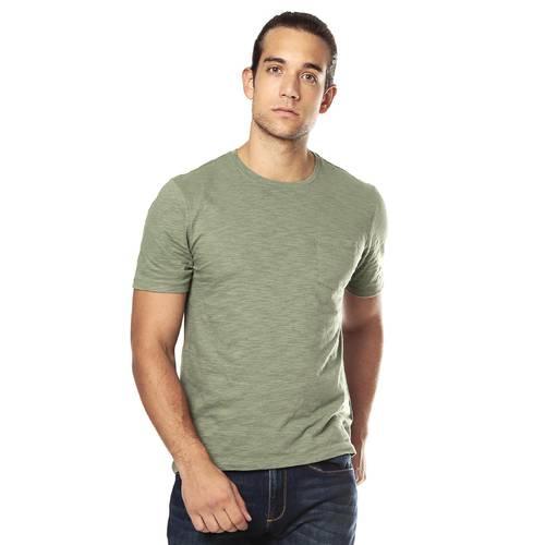Camiseta Color Siete Para Hombre - Verde