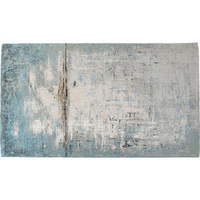 Alfombra Abstract azul claro 240x170cm
