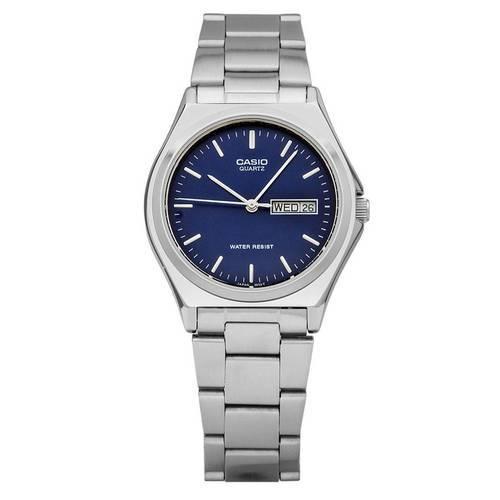 Reloj Análogo Azul-Plateado MTP-1240D-2A - Casio