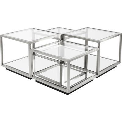 Mesa centro Luigi plata (4/Set)