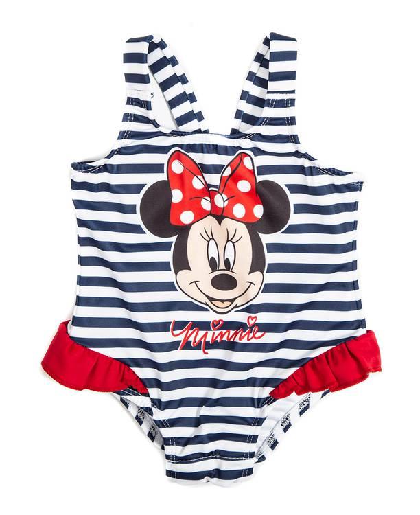 Vestido Baño Entero Bebita Minnie