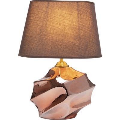 Lámpara mesa Alba bronce 42cm