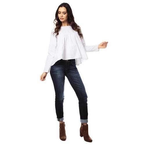 Blusa Color Siete para Mujer-Blanco