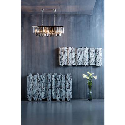 Lámpara Smoky Lounge rectangular