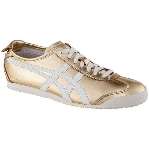 Tenis Mexico 66 Gold White