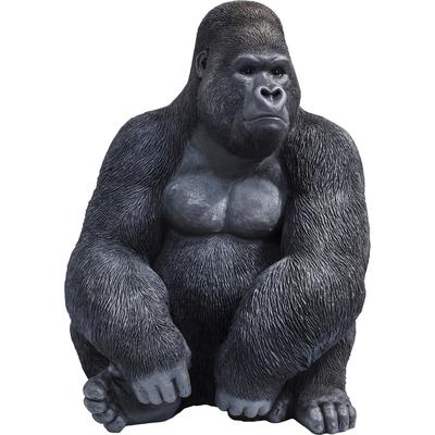 Figura decorativa Monkey Gorilla Side  XL negro