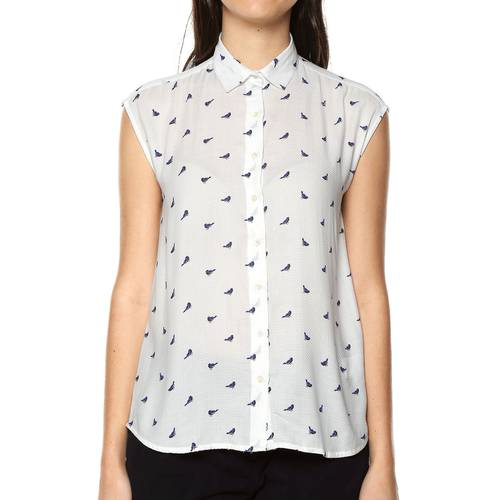 Blusa Color Siete para Mujer - Blanco
