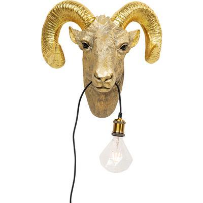 Lámpara pared Goat Head