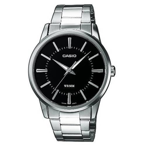 *Reloj Análogo Negro-Plateado MTP-1303D-1A - Casio