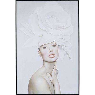Cuadro Art Lady White Blossom 120x80cm