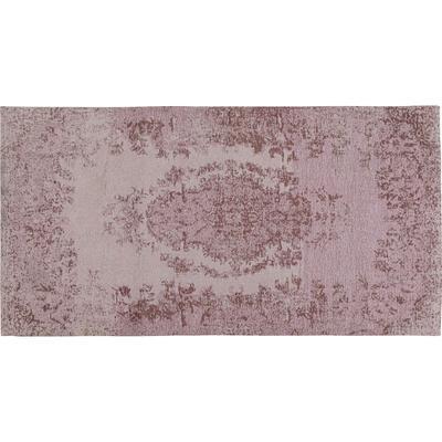 Alfombra Vintage rosa 80x150cm