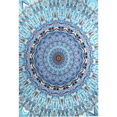 Cuadro cristal Metallic Shakedelic 120x180cm