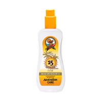 AUSTRALIAN GOLD BRONCEADOR GEL. SPRAY. SPF 15 8oz