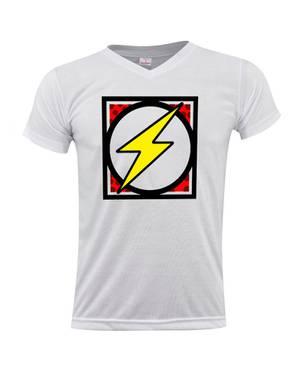 Camiseta Cuello V Flash Shield 0264 - ART GENERATION