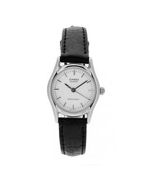 Reloj análogo blanco-negro -7AR