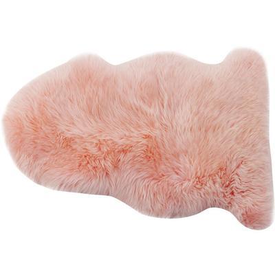 Piel cordero Zenzi 95 cm rosa