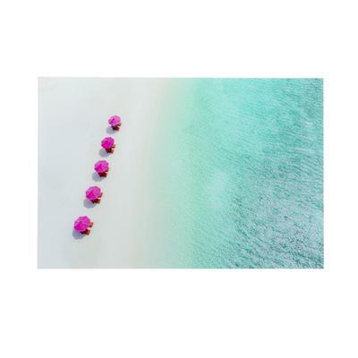 Cuadro cristal Calm Beach 120x80