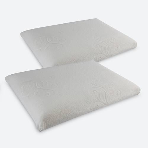 Setx2 Almohada en Memory Foam de 60x40x15 cm