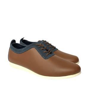 Zapatos F02 - Cuero Miel