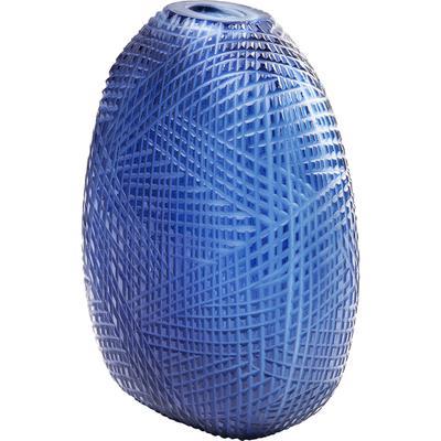 Vasija Cut Out azul 25cm