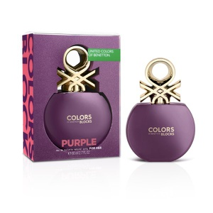 Benetton Colors Purple Blocks Collector Mujer EDT 80 ML