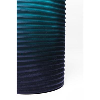 Vasija Swirl turquesa 36cm