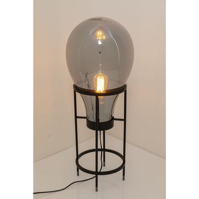 Lámpara mesa Pear Frame negro 78cm