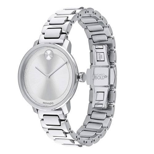Reloj análogo plateado 0501